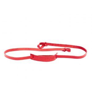 strap rojo
